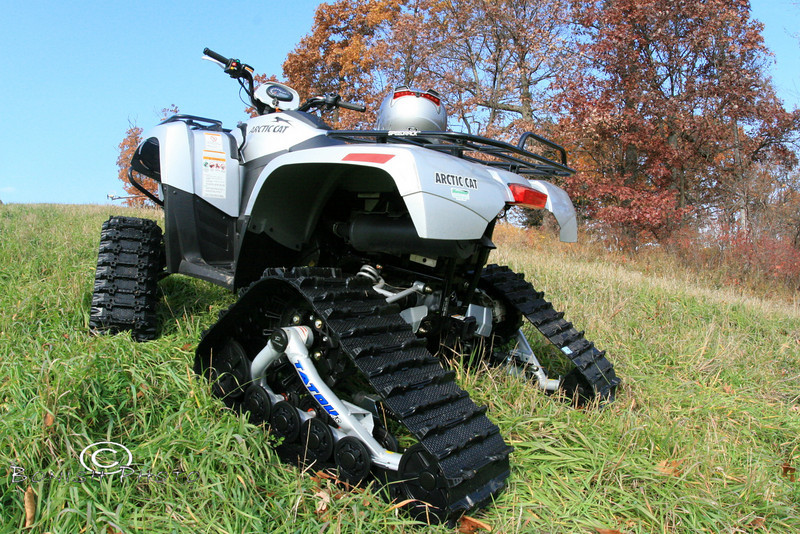 Camoplast Atv Tracks test of a set of these Camoplast Tatou Tracks on a