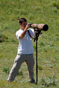 Shooting with a Wimberly and a Canon 500mm