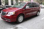 Chrysler Town &amp; Country Van - Photo by Julian Konwinski