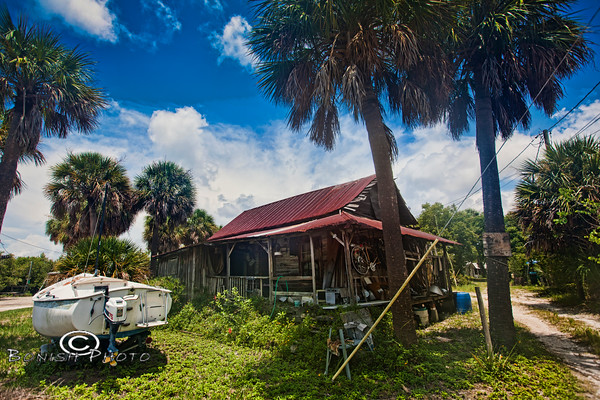 Cedar Key Shack - Photo by Pat Bonish