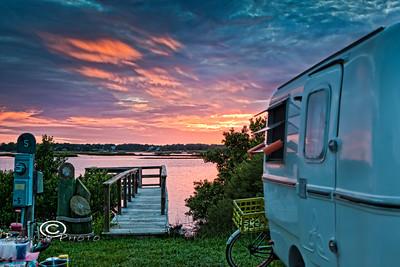 Doing What It's Named For, Producing Magnificent Sunsets at Sunset Isle RV Park - Cedar Key Florida - Photo by Pat Bonish